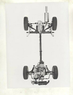 1978 Porsche 924 Turbo Chassis ORIGINAL Factory Photograph wy5457