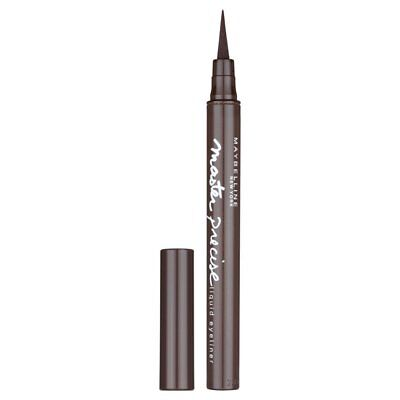 Maybelline Master Precise Liquid Eyeliner Eye Liner Pen Forest Brown