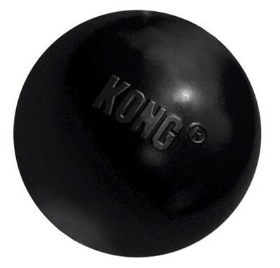KONG - Extreme Rubber Ball Dog Toy Black Small - 1 Ball