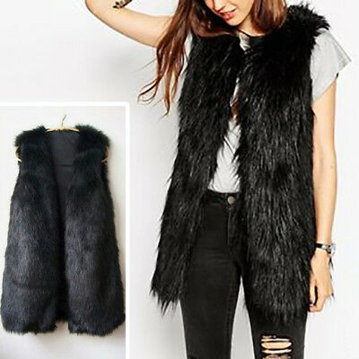 Women Real Coat Farm Fox Fur Vest Gilet Long Top Perfect Warm Fox Fur Wholesale