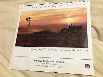 1996 John Deere Calendar -- A Year In The Life Of North American Agriculture