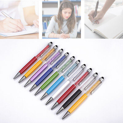 Crystal Capacitive Touch Screen Ballpoint Pen School Office Stationery