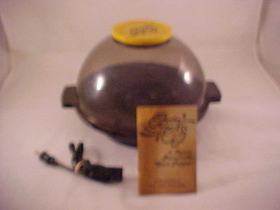 Vintage Party Pop 4 Quart Corn Popper w/ Butter Well Popcorn Complete Works Well