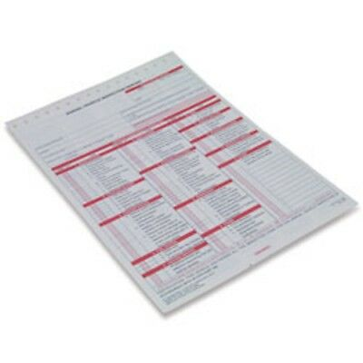 20 Annual Vehicle Inspection Report, 3-Ply, Carbonless