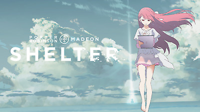 Porter Robinson Shelter Short Film ~ (1) Cloth Poster Japan Import