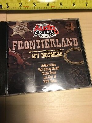 Lou Mongell Disney Frontierland Audio Guide CD Still Shrink wrapped NEW