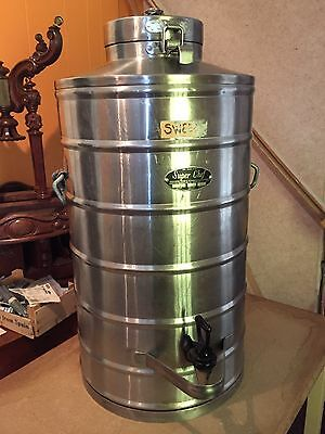 Super Chef Stainless Steel Mil-10 Military 10 Gallon Beverage Container Survival