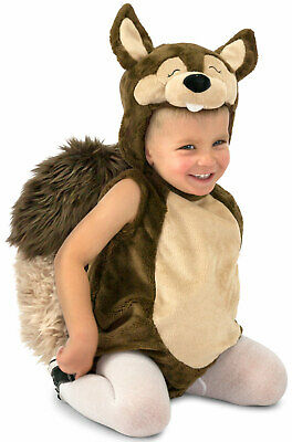 Brand New Nutty the Squirrel Animal Toddler Costume