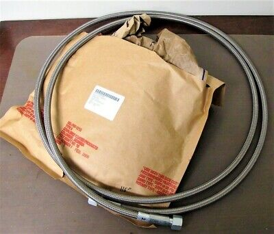 "116"" STAINLESS BRAIDED HOSE 4720015599893 Hose-2.1 ss flexible 0.484 OD"