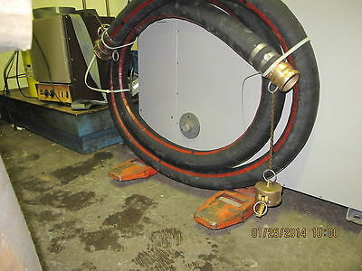 "4 Ply 2 ½"" x 20Ft Camlock Hose Fuel & Oil Resistant Aviation Jet B  [G1Top"