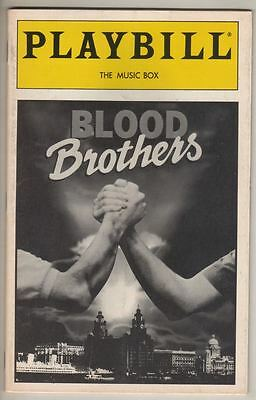 "David Cassidy & Petula Clark  ""Blood Brothers"" Playbill 1994  Kerry Butler"
