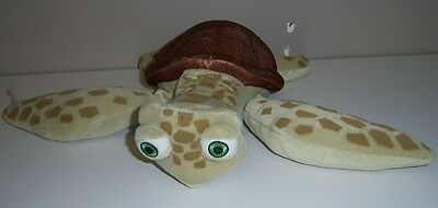 "Disney Finding Nemo CRUSH 10"" Stuffed Plush Turtle"