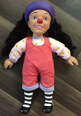 """Rare 2002 18"""" Talking Loonette Doll Big Comfy Couch Molly Friend Works Great HTF"""