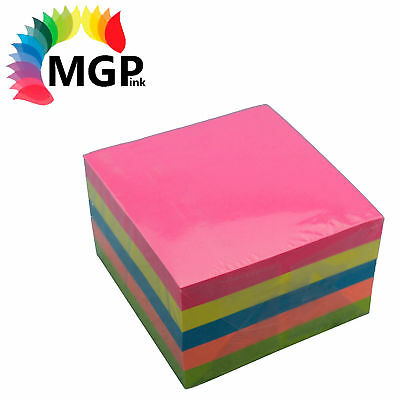 1 Blumax Sticky Notes pad, stick on notes, Mixed 500 Sheets /Pk-76x76mm
