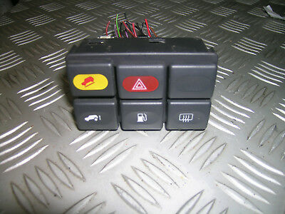 D2 Land Rover Discovery square switch block with plugs Defender dash bezels