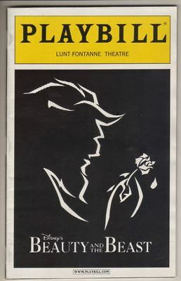 "Steve Blanchard & Ashley Brown   ""Beauty and the Beast""   Playbill  2005"