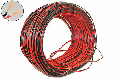 Brass AUTOMOTIVE 12V 24V 2 CORE TWIN THINWALL AUTO CABLE WIRE WIRING LOOM 0.3mm²