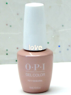 OPI GelColor New Gel Nail Polish Soak-Off T65- Put it in Neutral