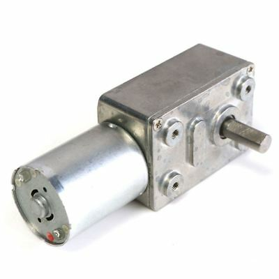 GW370 12V 6rpm Reversible High Worm Geared Motor Torque Turbo DC Motor 35A P4D3