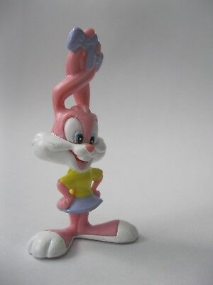 BABS BUNNY stamped WB '97 Warner Brothers Tiny Toons figure about 2.5 inch tall