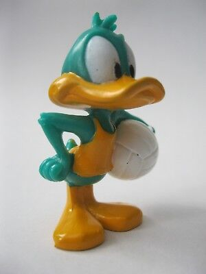 PLUCKY DUCK stamp WB '97 Warner Brothers Tiny Toons figure about 1.75 inch tall