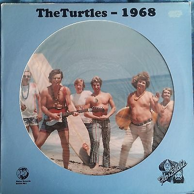 """THE TURTLES - 1968 - 12"""" Picture Disc Rhino Records RNPD 901"""