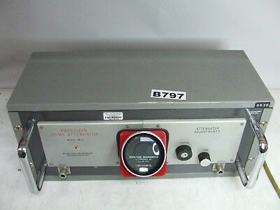 Weinschel Engineering PA-2 PA2 Precision 30Mhz RF Piston Standard Attenuator