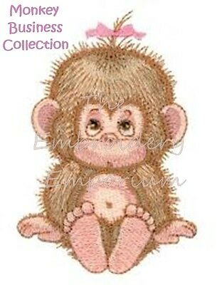 Monkey Business Collection - Machine Embroidery Designs On Cd