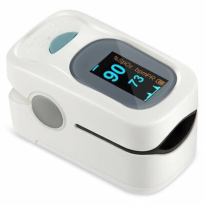 Finger Pulse With Display, Heart rate monitor, Includes Batteries and Lanyard