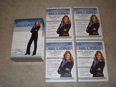 "Dani Johnson 7CD set ""Prospect and Close Your way To Millions"""