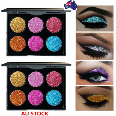 Shimmer Glitter Matte Eye Shadow Powder Palette Set Eyeshadow Cosmetic Makeup