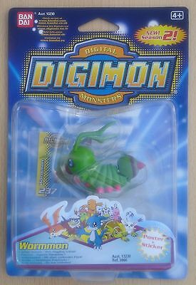Ban Dai 13230 Ref 3966 - Digimon Digital Monsters 2 Figur Wormmon (Neu & OVP)