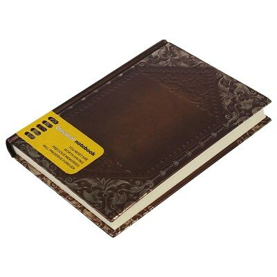 Retro Vintage Personal Notebook Diary Journal Organiser Book School Office J5E7