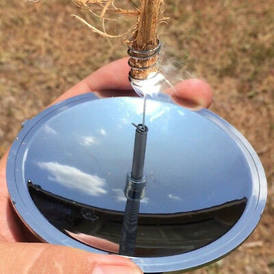 Survival Fire Outdoor Camping Solar Spark Lighter Fire Starter for Car Using
