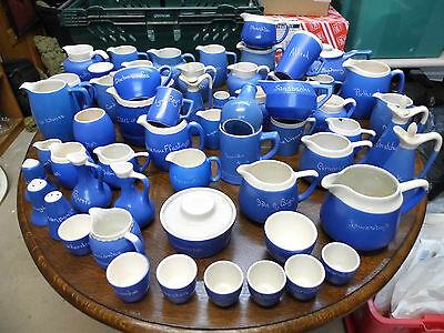Large job lot of Devon Blueware over 60 items (lot B) Priced to sell