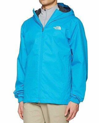 The North Face TNF Mens Quest Waterproof Jacket Coat Hood, in Blue, Size M or L