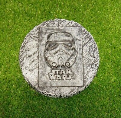 Star Wars stepping stone mould and fibreglass jacket