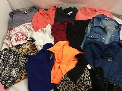 Large Lot Of Women Juniors Mixed Clothing Lot Size Medium Delia's Forever 21