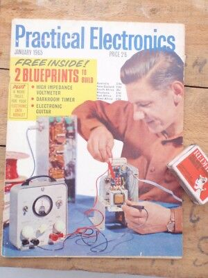 Electronics 1965  & 2 Blue Prints