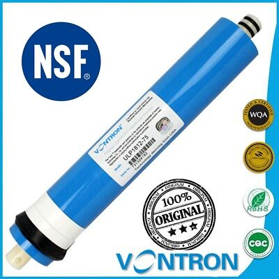 VONTRON 75 GPD Universal Reverse Osmosis RO Membrane Replacement Water Filter