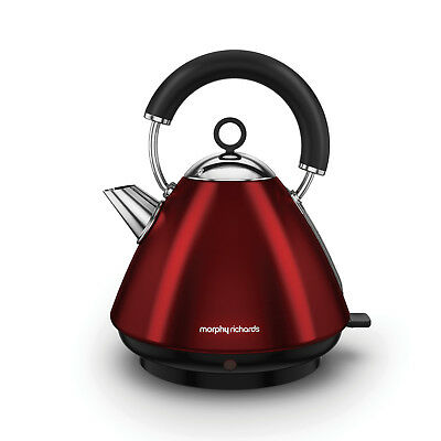 Morphy Richards 102029 Accents Red Traditional Kettle