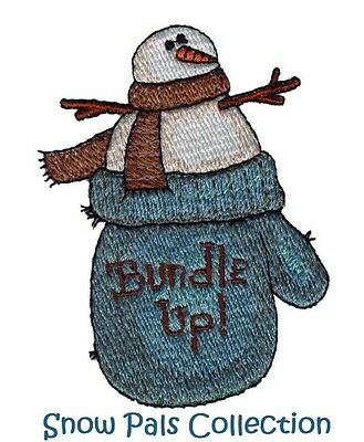 Snow Pals - Machine Embroidery Designs On Cd