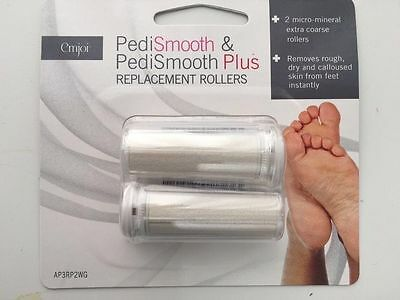 Emjoi Pedismooth & Pedismooth Plus replacement rollers - pack of 3
