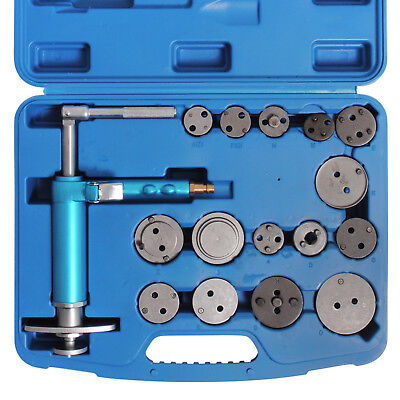 "16pc 3/8"" UNIVERSAL PNEUMATIC AIR BRAKE DISC CALIPER WIND BACK REWIND TOOL KIT"