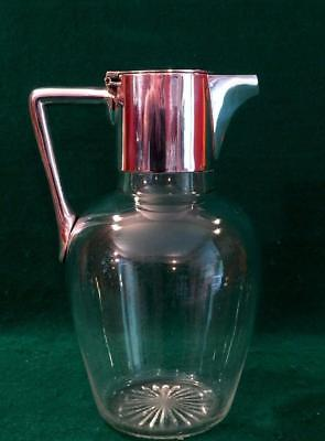 Mappin & Webb Victorian claret jug by Dr Christopher Dresser circa 1890