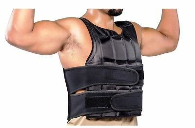Weight Vest Adjustable Weighted Training Vest 10-15-20kg All Weights Provided