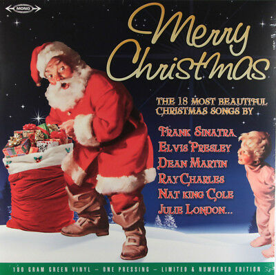 Various - Merry Christmas (Limited Edition Numbered 180g Green Vinyl LP) New