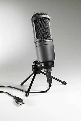 Audio-Technica AT2020USB Wired Black microphone AT2020 USB+