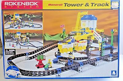 Rokenbok System Monorail Tower & Track 36320 Lego Building Construction