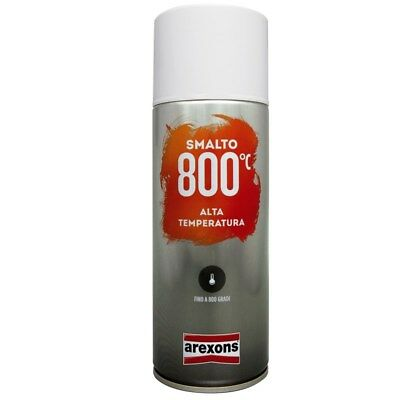 Vernice Spray Smalto per Alte Temperature Rosso 800° 400ml Arexons/Teknica